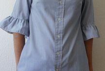 Переделки из мужских рубашек
