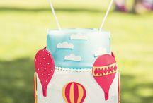 Festa tema balão