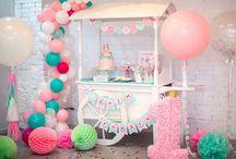 Donuts birthday party