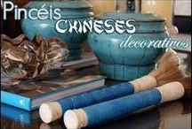 Pincel Chines decorativo