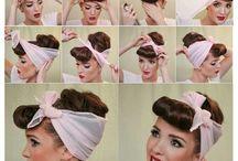 Haare Vintage
