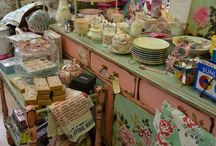 Thrifty Style / Bargain hunting, using old/used discarded treasures in the home to create shabby chic and vintage styles