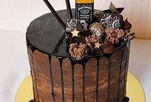 Jack Daniels Cakes