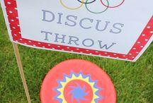 Olympics Birthday Party