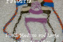 Crochet para perros ropa
