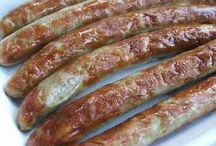 Everything in life has an end. Only sausages have two / the art of sausages making