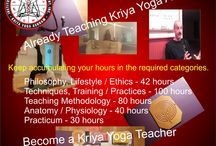 Kriya Yoga Teacher Training Level 2 500 hours / If you are already teaching Kriya Yoga Asana then you can qualify to take the Level 2 Program. Learn the Spiritual Science of Kriya Yoga and experience the physics of Spirituality.