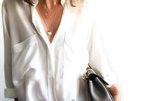 White Blouse Inspiration