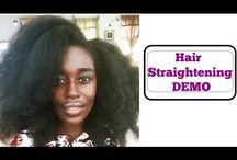 hairstraightening video