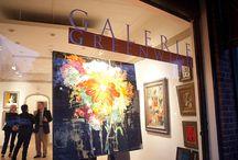 ARTIST PARTIES ..... GALERIE GREENWICH / Artist parties & events