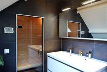Sanidrome het Badhuis: Gerealiseerde badkamer Veendam / Sanidrome het Badhuis uit Scheemda toont graag een door hen gerealiseerde badkamer.