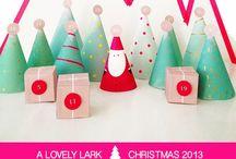 Christmas Advent / Christmas | Advent | DIY | Crafts | Printables | Family | Holiday
