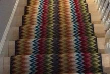 Colorful Stair Runners