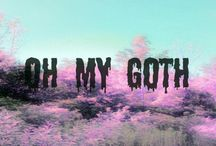 ✝Pastel✝Goth✝ / ✝ Dark and sweet pastel goth style, fashion and jewelry. ✝