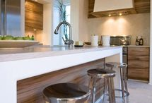 k i t c h e n s / Kitchen design ideas and inspiration for cabinetry, countertops, flooring, kitchen trends, islands, door styles, and more.