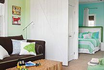 bedroom/salon