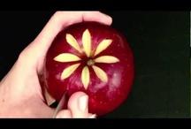 Яблочный Карвинг / Всё о резьбе по яблоку.