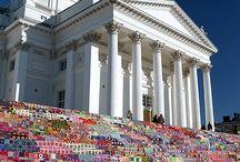 Yarn Bombing / by Mountain Made Crochet