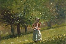 aquarelle :: Winslow Homer