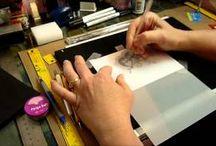 percomano cards and tutorials