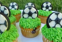 Soccer Sweets - Inspiration for Supa Strikas Party / #cakes, #cookies, #cupcakes and all sweets #soccer related -  - Inspiration for #Supa Strikas Party