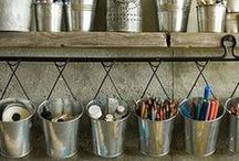 Craft Storage Ideas / Collection of lovely ideas for storing our crafty stash!