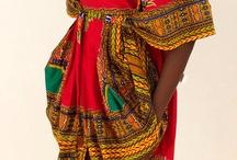 African Fashion / Kente etc.