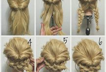 Hair, braids, up do's