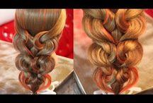 Причёски, косы
