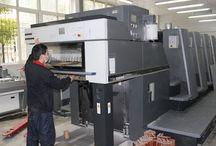 Machine Display / Machines in sinicline warehouse.