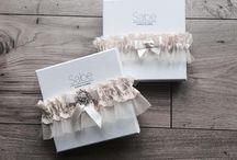 Wedding garters / wedding garters made in Poland
