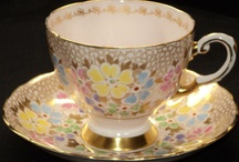 Stylish Teacups / At Tea & Roses we have a vast collection of teacups. I can never resist adding more beautiful cups to my collection. This boards shows my favourite styles for colours and designs that inspire and excite me!