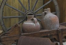 Decoraçao rustica de fazenda