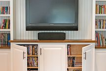 Home Entertainment Centers / Home Entertainment Centers, Wall Units, Family Room Wall Units, Home Decor, Cabinetry, Television Cabinets