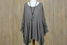 Ladies Lagenlook Clothing #plussize / Plus Size Womens Lagenlook Layered Clothing