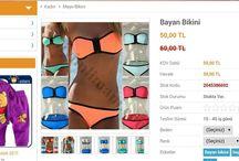 Bikiniler geldi