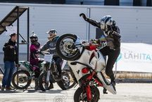 Streetbike Freestyle / Sportbikes at action