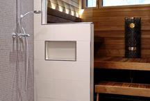 Fürdőszoba szaunával