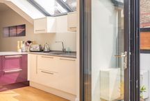 External doors / An easy way to enhance connection with outside space - Collection of sliding and folding door images to residential properties throughout London, Surrey and Sussex   designed by three eleven design   Brighton Architects