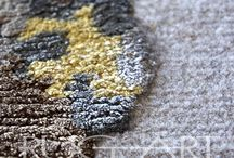 Rug Art | Textures and Appearence / Close-up glimpse into a beauty we all wake-up to. Our rugs have them all - color, beauty, design, presence