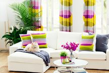 This April go colorful! / New month, new check-lists, new tasks and newer accomplishments, then why should your room remain dull and boring? This April go colorful with the decor!