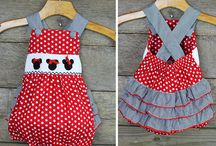 Mouse Collection / Smocked mouse collection... perfect for your trip to Disney!