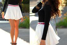 saias e vestidos