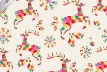 Fondo de pantalla decoracion Navidad candy