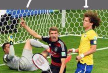 Germania Campione del Mondo 2014! / Dopo la Storica umiliazione del Brasile pallonaro anche Maradona e Messi si arrendono davanti alla corazzata tedesca... 8 luglio 2014 - Brasile - Germania 1 - 7.  13 luglio 2014 - Germania - Argentina 1 - 0, e tutti a casa!