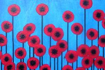 home: poppies / by Katie Hudson