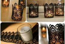 DIY Candles / Inspiration to make Candles, Candlesticks and other Candle things