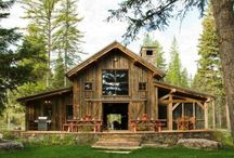 First Home Ideas. / We are looking at building a barn house for our first home. This is my board for ideas!