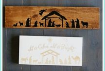 Nativity scene diy
