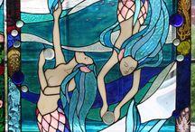 Glassmalerier